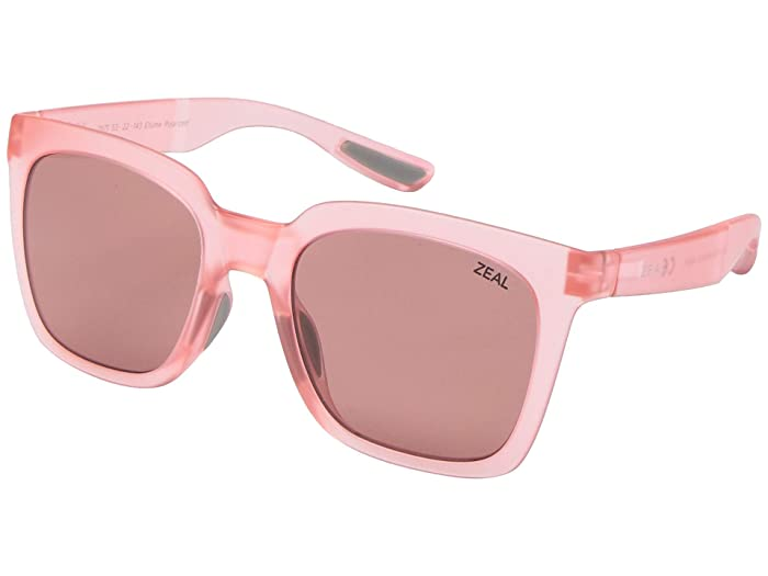 Zeal Optics  Cleo (Rose All Day/Polarized Rose Lens) Fashion Sunglasses