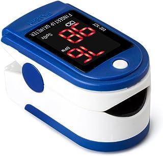 BDFA Oxímetro De Pulso, Analizador De Oxígeno con Dedo Inteligente para El Hogar, Latido Cardíaco, Ritmo Cardíaco Y Medidor De Pulso.