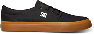 DC Men's Trase TX Skate Shoe, Black/Gum, 9 D M US