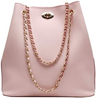 Bizarre Vogue Women's Handbag (BV001225_Peach)