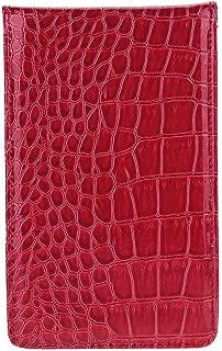 bulingbulingseason Golf Scorecard Holder PU Leather Yardage Book Golf Score Wallet Pocketbook Gift Accessories
