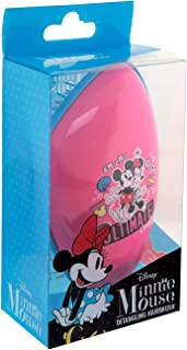 DISNEY #MicMin Mickey & Minnie Mouse detangling hairbrush. Original size.