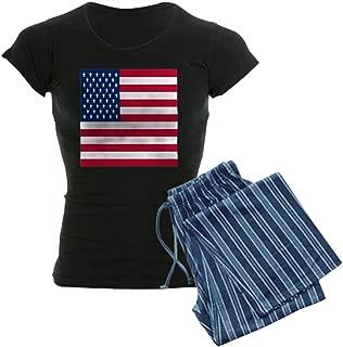 CafePress United States Flag Pajamas Women's PJs