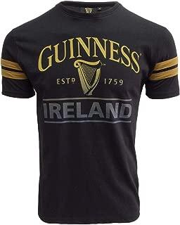 Guinness Black Deep Tan Tape Tee-Shirt