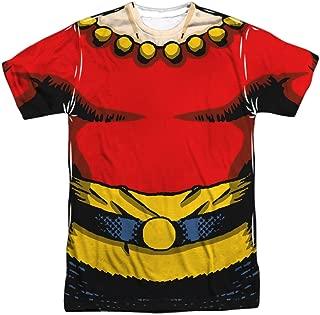 Flash Gordon Classic Comics Hero Nintage Flash Uniform Adult Front Print T-Shirt