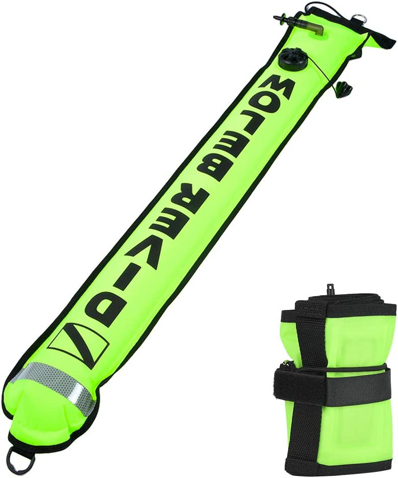 Josopa 5FT Max 82% OFF 25% OFF Diving Surface Marker Safety Buoy Inflatable S