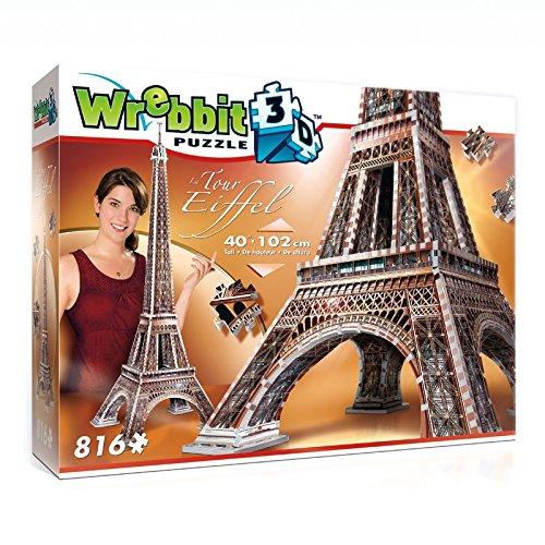 Wrebbit 3D - 34509 - Puzzle 3D - Eiffelturm