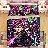 UWDDDEY Ropa De Cama220X240 Cmsuper Soldado De Dibujos Animados Anime 3D Patrón Imprimiendo Funda Nórdica Y Funda De Almohada 2 Piezas Fibra Ultrafina De Poliéster Suave Y Transpirable Antialérgico