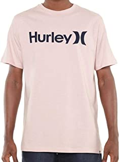 Camiseta Hurley Silk O&o Solid Rosa
