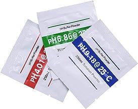 3 unids/Lote PH Buffer Powder Medir Calibración Solución ph4.00/6.86/9.18 para medidor de Prueba de PH