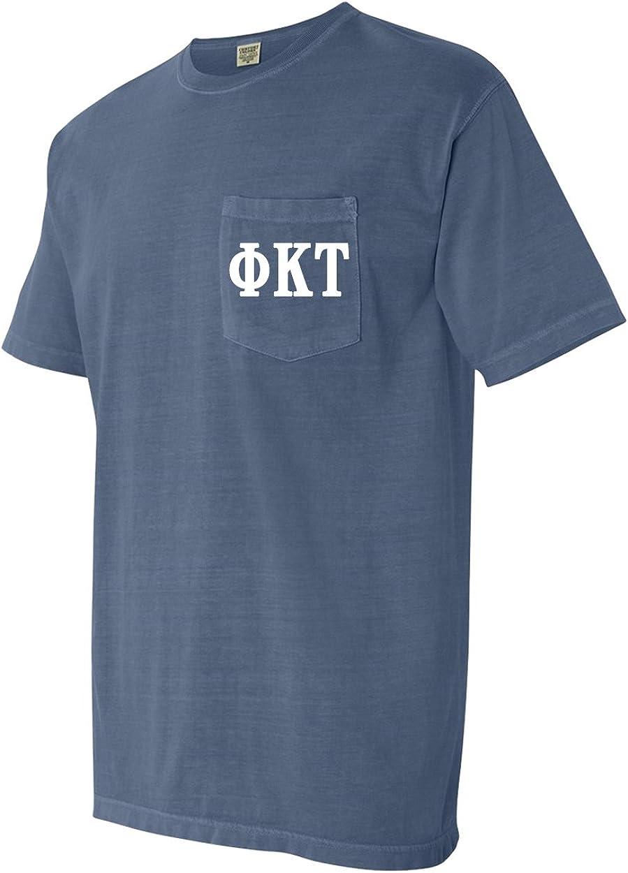 Phi Tau Shield Shirt Phi Kappa Tau Comfort Colors T-Shirt