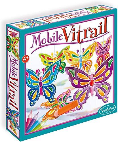 MOBILE VITRAIL - PAPILLONS
