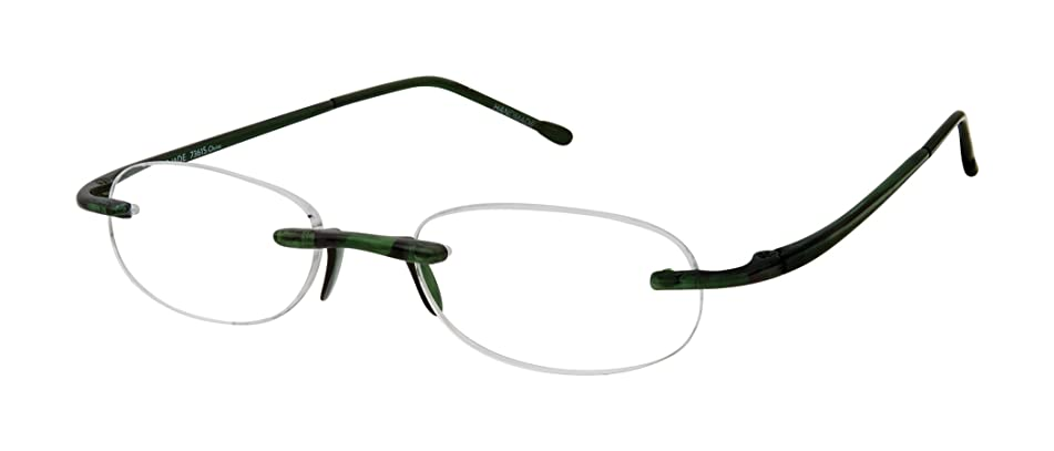 Gels Lightweight Rimless Fashion Readers - The Original Reading Glasses for Men & Women