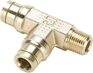 Tube to Pipe Nickel Plated Brass Pack of 20 Pack of 20 1//8 Parker W68LF-2-2R-pk20 Prestolok PLP Push-to-Connect Nickel Plated Instant Fitting Push-to-Connect and BSPT Connector 1//8