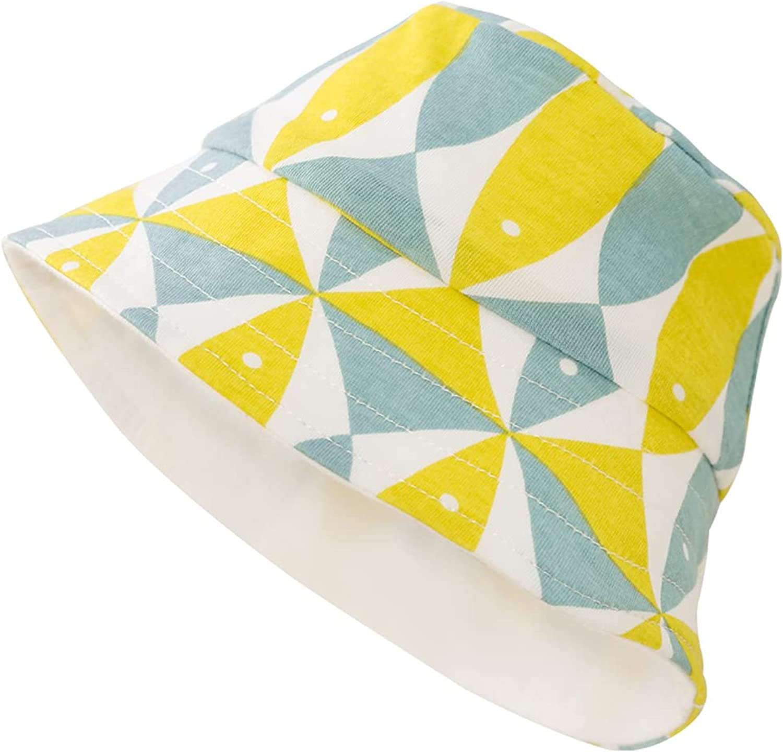 pureborn Baby Bucket Hat Infant Boys Girls Cotton Breathable Sun