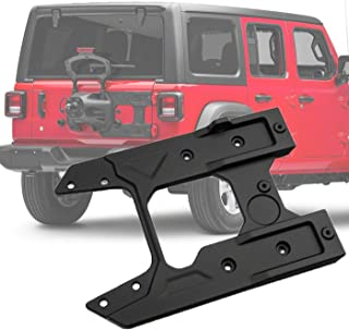 omotor for Jeep Wrangler JL 2018+ Oversized Spare Tire Carrier Tailgate Reinforcement Kits