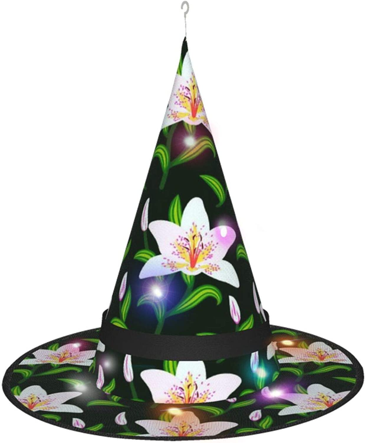 Lily Flowers Halloween Witch Hat Oakland Mall 5 ☆ popular Costume Accessory wit for Party