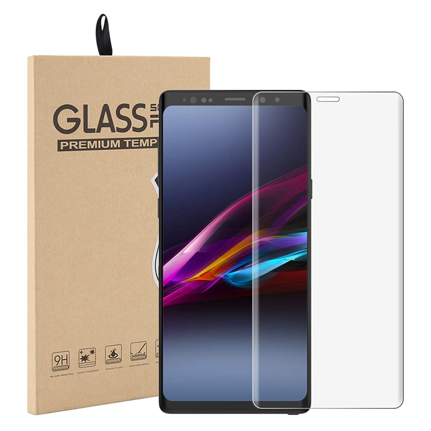 Torubia Samsung Galaxy Note 9 Case, Thin Slim Backcase Full Lens Protection Excellent Soft Case Back Cover Compatible with Samsung Galaxy Note 9 -