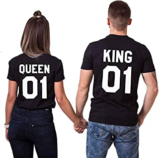 King 01 And Queen 01 Shirts
