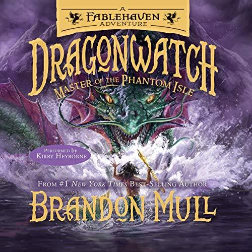 Master of the Phantom Isle audiobook cover art