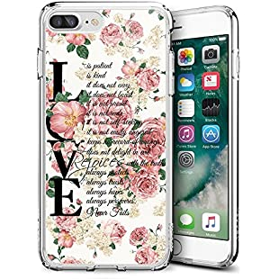 ZYCCW iPhone 8 Plus & iPhone 7 Plus Case, Customized Love Quotations TPU Clear Case for iPhone 8 Plus & iPhone 7 Plus 5.5:Mytools