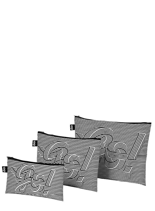 LOQI(ローキー) ジップポーチ3個セット TYPE ZP.TY.GO