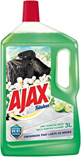 Colgate-Palmolive Ajax Fabuloso Multi Purpose Cleaner, 3L, Lime Charcoal