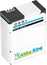 Akku-King Battery compatible with GoPro HERO3  HERO Hero replaces AHDBT-301  AHDBT-201  AHDBT-302 Li-Polymer 1180mAh