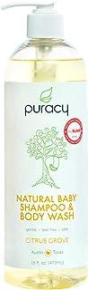 Puracy Natural 婴儿沐浴露 (1) 16-Ounce Bottle (Citrus Grove) 16