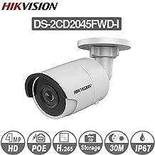 Hikvision Camera DS-2CD2045FWD-I 4mm 4MP Ultra-Low Light Network Bullet Camera POE Night Version IP67 H.265 ONVIF English Version