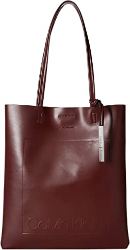 Nora Pressed Pebble PVC North/South Tote
