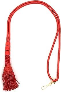 Mercy Robes Bishop Tassel Pectoral Cord (Scarlet Red)