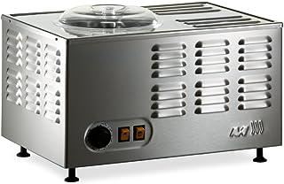 Musso Pola Stella 5030 Sorbetière Électrique 1.5L Fabriquée en Italie Inox Machine à Glace Refrigerante Pour Crème Glacée,...