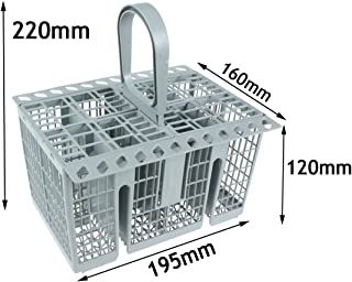 Spares2go Cutlery Basket Cage , Handle & Lid For Belling Dishwasher