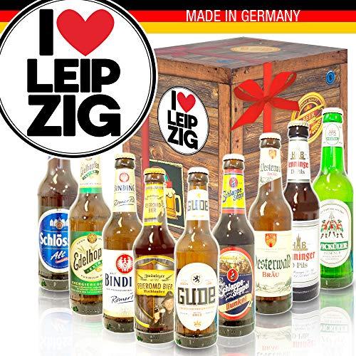 I love Leipzig/Bier aus Deutschland/Geschenke zu Leipzig