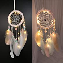 Gotian Cute Handmade Dream Catcher Feathers Night Light Car Wall Hanging Room Home Decor, Great Decoration, Good Gift, Unique Design and, Pendant Creative Gift
