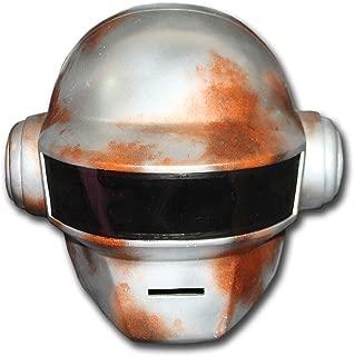 Custom Wearable Halloween Costume Cosplay Mask Movie Prop DJ Music Gift Daft Punk Helmet + Glove Thomas MA175
