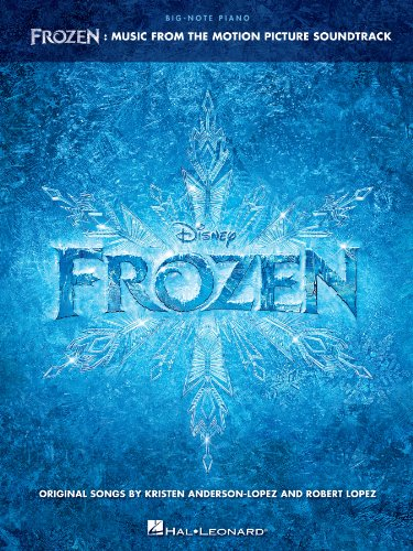 Frozen - Big-Note Piano Songbook: Music from the Motion Picture Soundtrack (English Edition)