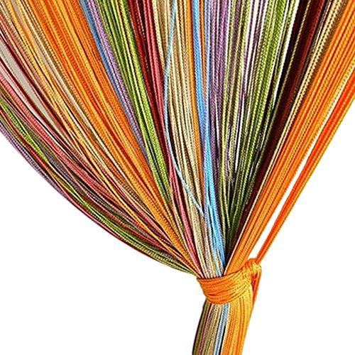 Wishwin Finestra Colorato Linea String Wall Panel Della Frangia Della Nappa Divisoria Curtain