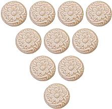 Creatwls Keramische knoppen voor badkamer/slaapkamer/keukenkast deurknoppen, 10 stuks lade trekt dressoirknoppen kabinet h...