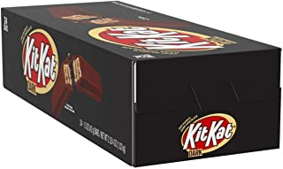 KIT KAT Dark Chocolate Candy Bar, Halloween Candy, 1.5 Ounce (Pack of 24)