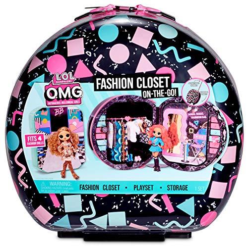 L.O.L. Surprise! O.M.G. Fashion Closet On The Go O.M.G. - Maleta de Viaje