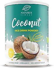 Bebida de arroz con coco en polvo Bio 250g. 250g | Se obtienen 2,5 l de deliciosa leche vegetal orgánica | Vegetariana y vegana.