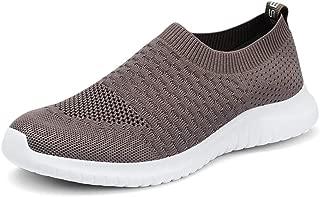 TIOSEBON Men's Shoes Slip-On Running Sneakers