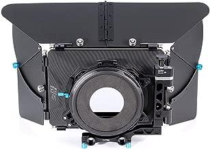 Fotga DP500 Mark III DSLR Swing Away Matte Box 4x4 & Sunshade Board & Filter Holder & 15mm Rod Adapter for BMPCC 4K Sony a7R a7S a7iii Panasonic GH5 GH5s Canon Nikon Camera & More