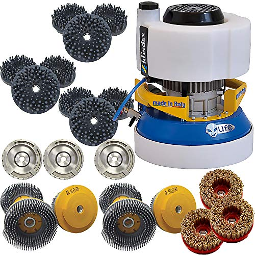 Buy Klindex UFO Variable Speed Counter Top Polisher - 4 Inch Snaillock Holder - Snaillock Diamond Wi...