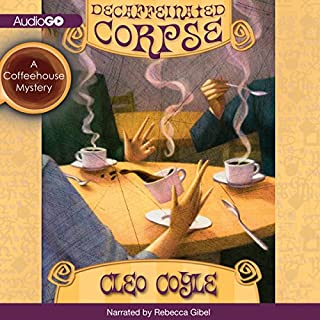 Decaffeinated Corpse audiobook cover art