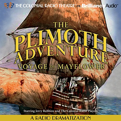The Plimoth Adventure - Voyage of Mayflower audiobook cover art