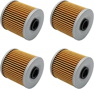 Cyleto Oil Filter For KAWASAKI KLR600 KL600 1984-1990 KLR650 KLR 650 CAMO 1987-2016 KL650 KL 650 TENGAI 1989-1992 KLF300 BAYOU 2X4 300 1986-2004