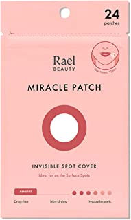 Rael Acne Pimple Healing Patch - Absorbing Cover, Invisible, Blemish Spot, Hydrocolloid, Skin Treatment, Facial Stickers, ...